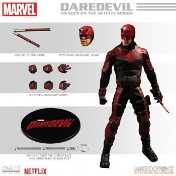 One:12 Colective Daredevil Figure
